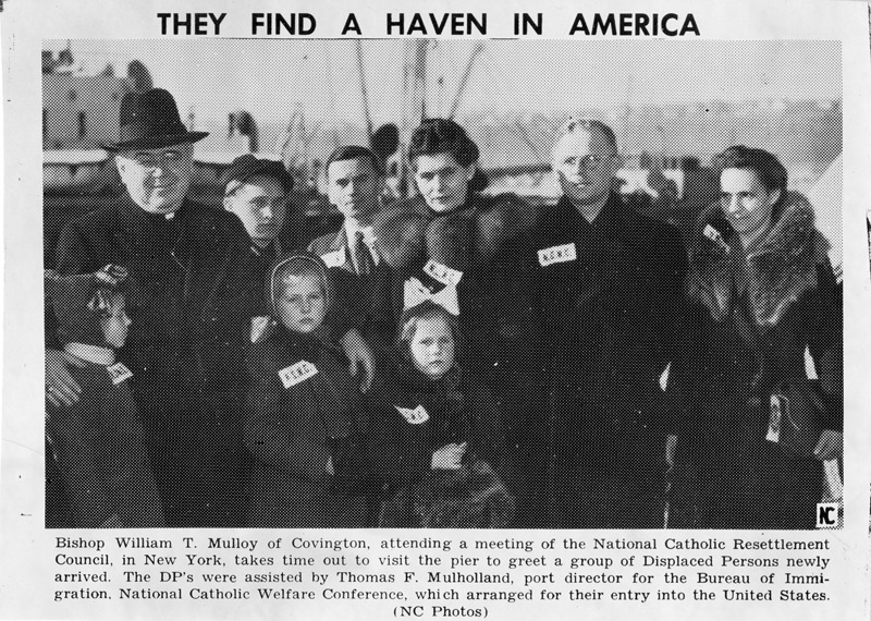 """DPs newspaper article, """"They Find a Haven in America"""""""