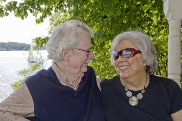 Berry and Mary Jo Reece in 2008