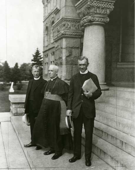 Kerby, Shahan, and O'Grady at CUA, n.d.