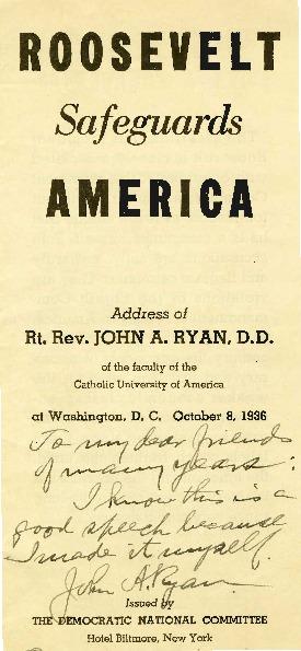 <em>Roosevelt Safeguards America</em>, October 8, 1936