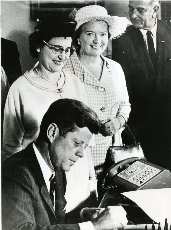 Margaret Mealey and Kennedy