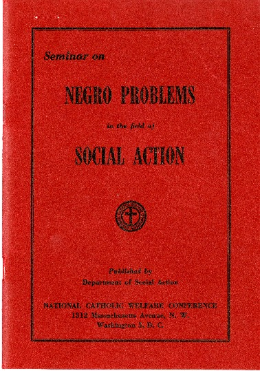 Seminar on Negro Problems in the Field of Social Action