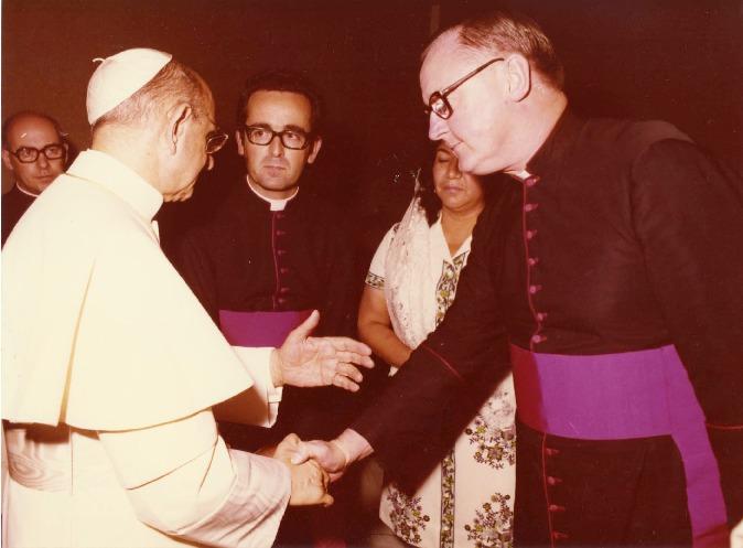 George Higgins and Pope Paul VI