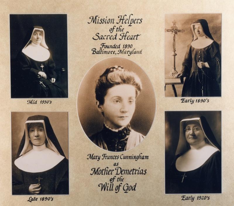 Mission Helpers, Mother Demetrias, Commemorative Card