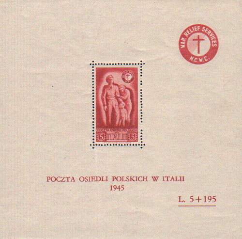 Polish-Issued NCWC Stamp