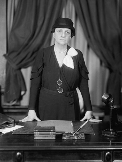 Frances Perkins, ca. 1935