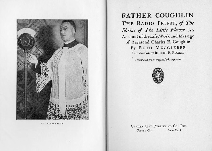 Mugglebee biography Charles Coughlin, 1933