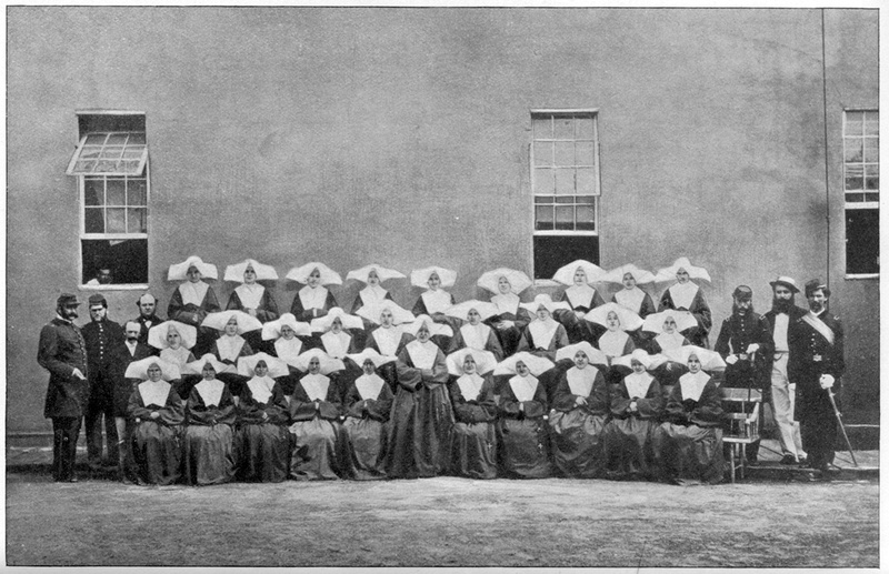 Daughters of Charity nursing staff