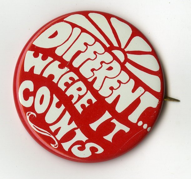 Different Where It Counts (1974)