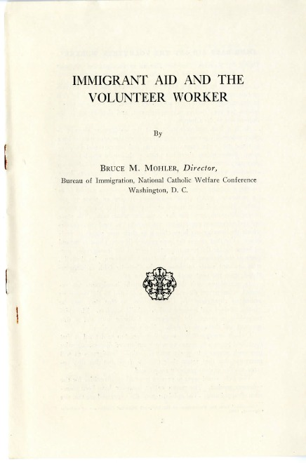 Immigration Aid and the Volunteer Worker