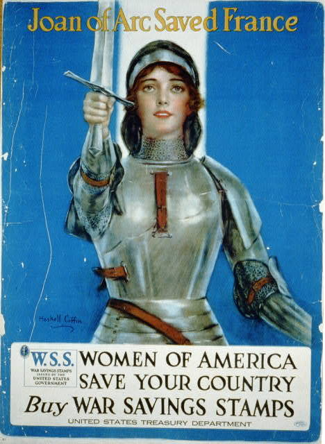 Joan of Arc Post, 1918