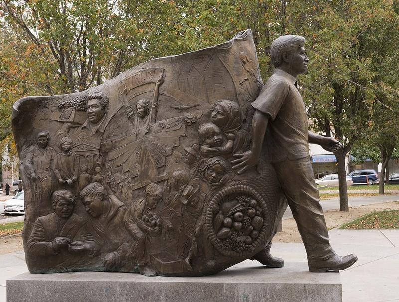 Cesar Chavez monument