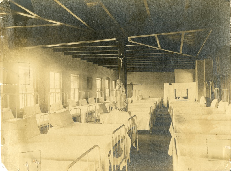 Mission Helpers, Dormitory of St. Peter Claver's Industrial School and Home, c. 1900