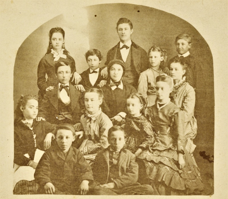 Sister Justina Segale and family, 1866