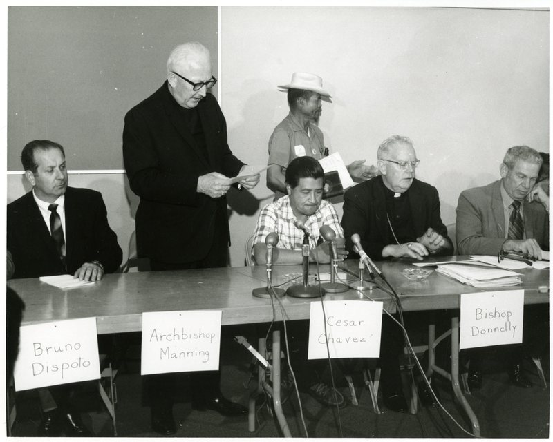 UFWOC and Dispoto, Bianco press conference