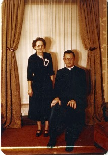 George Higgins with his Mother
