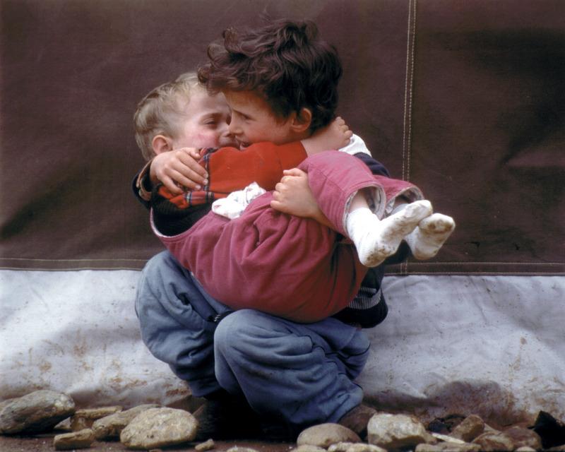 Albanian refugees