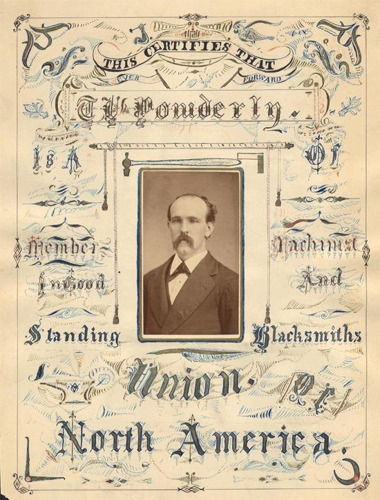 Union membership certificate, n.d.