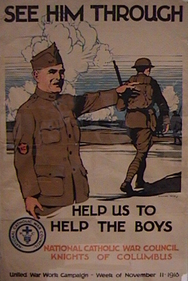 'See Him Through!' War Council poster, 1918