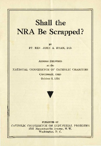 <em>Shall the NRA Be Scrapped?</em>, 1934