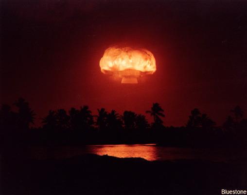 Nuclear Test Image Bluestone