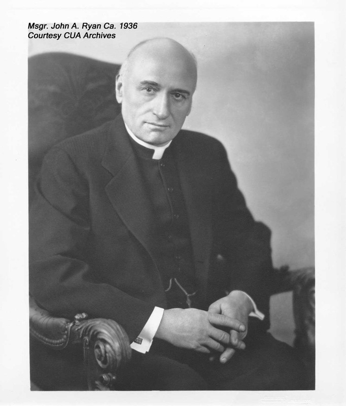 Msgr. John A. Ryan, ca. 1936