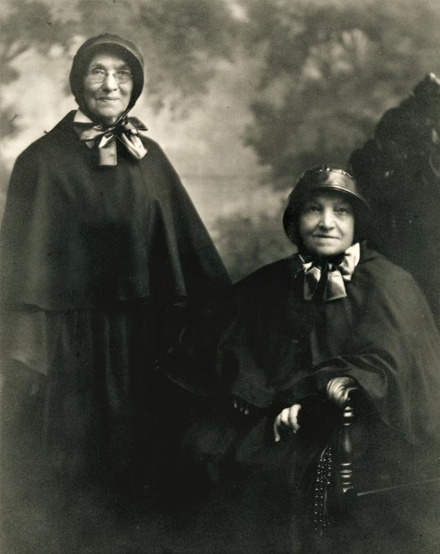 Sisters Justina and Blandina Segale, 1922
