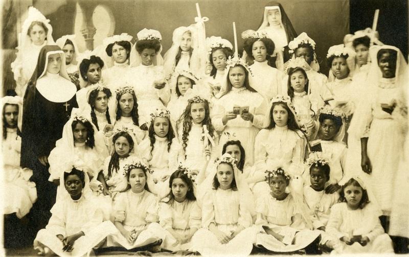 Mission Helpers, First Communion, San Juan, PR, 1909