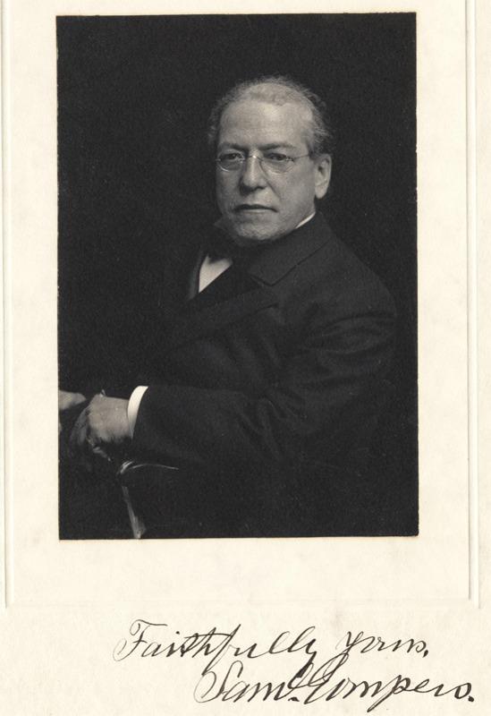 Samuel Gompers, n.d.