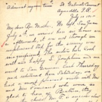 Mission Helpers, Demetrias to Joseph, July 10, 1905