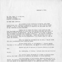 Letter from Rev. John O'Grady to Rev. Mgr. M.J. Splaine, October 9, 1918