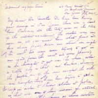 Mission Helpers, Demetrias to Joseph, August 3, 1905
