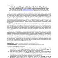 uelman2CST Work of Pope Francis Syllabus 20160923.pdf.Amy Uelmen.pdf