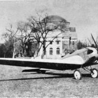 A Monoplane Designed by Chieh-Chien Chang