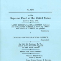 Writ of Certiorari - Zobrest v Catalina Foothills School District.jpg