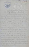 Letter to Terence V. Powderly, April 3, 1882<br />