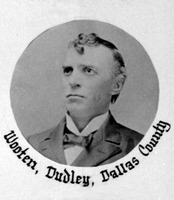 Dudley G. Wooten, from yearbook of the Twenty Sixth House Legislature, Texas