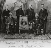 The Founders of the Knights of Labor, 1886