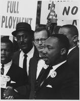 Matthew Ahmann with Dr. Martin Luther King Jr.