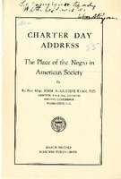 The Place of the Negro in American Society