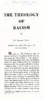 The Theology of Racism