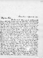 Letter to Frederick Turner, April 24, 1885