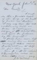 Letter to Terence V. Powderly, August 5, 1886