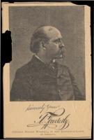 Portrait of Terence V. Powderly in newspaper illustration, n.d.